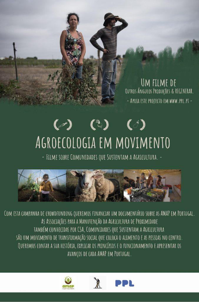 Documentário das AMAP / CSA: Agroecologia em Movimento - crowdfunding PPL